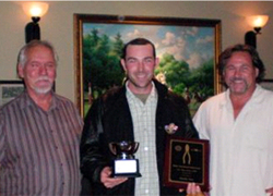 2009 Winner 2009 GPA winner Tim Haas receives Award from Western JETS Directors Lew Williams (left) and Business Manager Venoit (right)